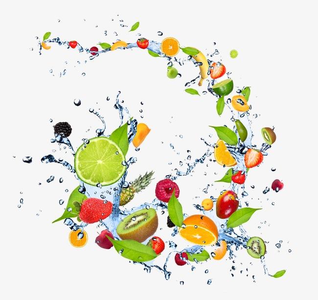 创意水果元素 - 装饰图案 - 玺图网-提供图片素材及
